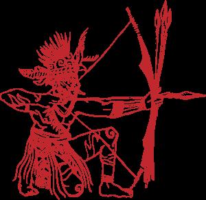 AGNI_asmat-archer-red