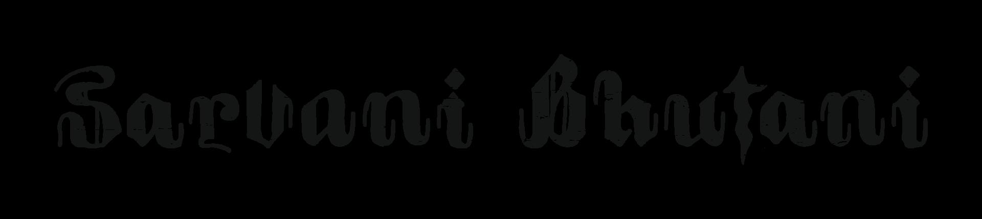 Sarvani Bhutani_Graphics_Logotype_01